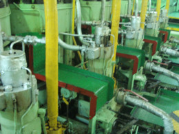 Main Engine Fuel and Compressed air system