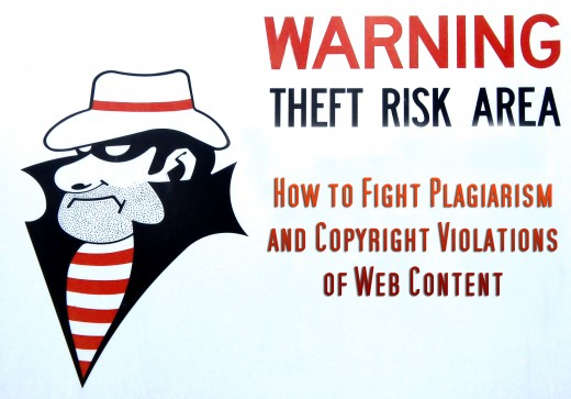 How to fight plagiarism and theft of your online content.