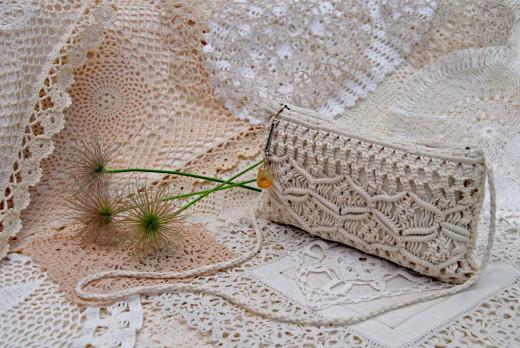 Beautiful lace, crochet, macrame