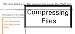 Compressing Large Files