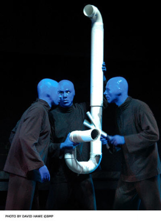 The Blue Man Group is amazing sight to see and it is also laugh out loud comedy constantly. They come to Universal several times every summer.