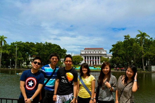 City Touring with Friends in Bacolod City