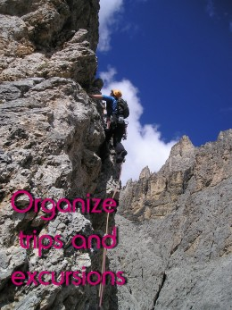 Organize trips
