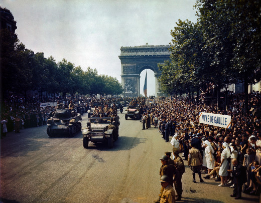 Behind the scenes, what appeared to be ordinary men and women were committing the most daring acts, making events like the liberation of Paris possible.