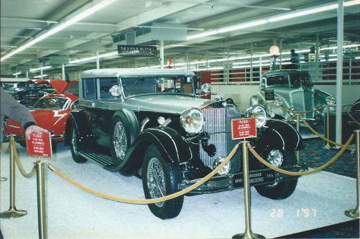 James Cagney's car at the Imperial Palace Hotel