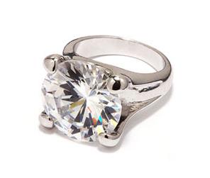 A Single Large Diamond