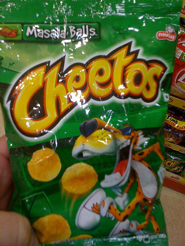 Masala Cheetos by bandarji on Flickr