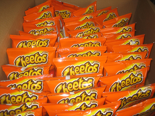 Cheeto-mania by akeg on Flickr