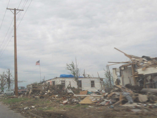 A tornado leaves behind more destruction than bricks and boards.