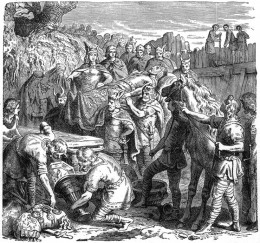 Death of King Alaric.