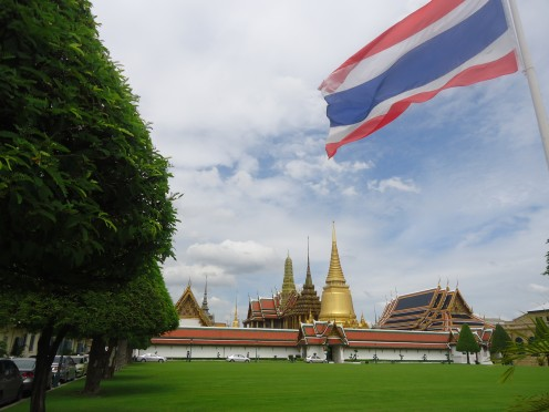 One of my Bangkok Pictures.  This is the Grand Palace in Bangkok