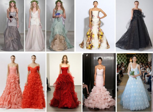 Colors of Wedding Dresses
