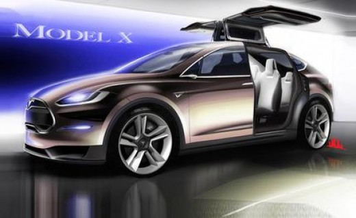 The family car with 3 rows of seats (Tesla model X) is coming in 2014. In a video below, you see that these seats can hold big people, if needed.