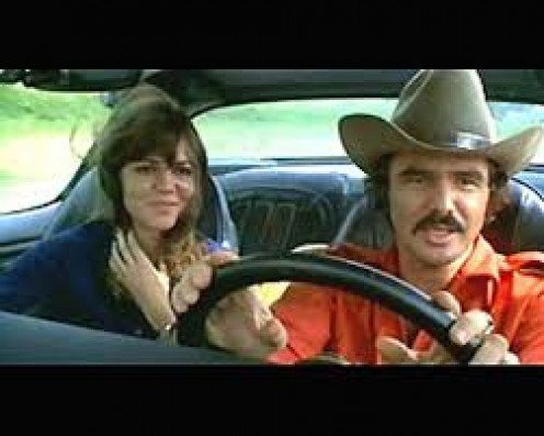 Burt Reynolds and Sally Field star in Smokey and The Bandit which had a sequel. This is truly a classic.