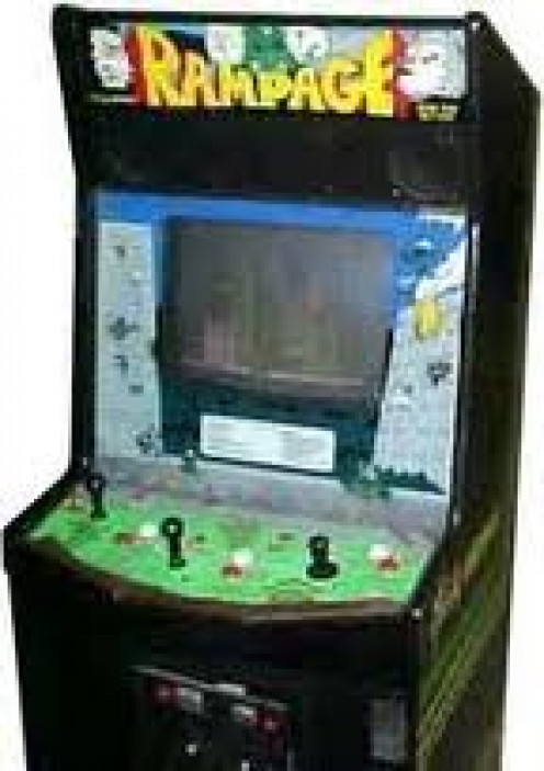 Rampage was a wildly popular arcade game.