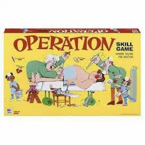 Operation the board game has had many spin offs such as The Simpsons Operation board game.
