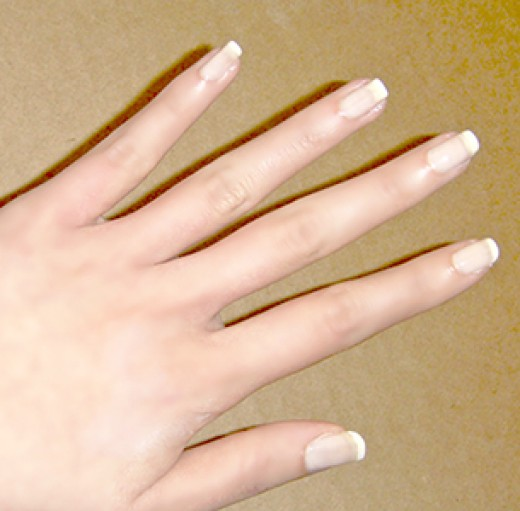 Nice Manicured Nails