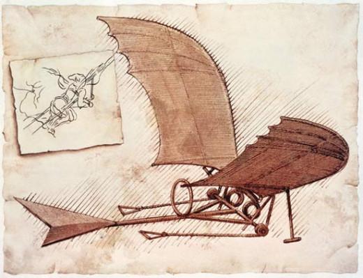 DaVinci Glider Airplane