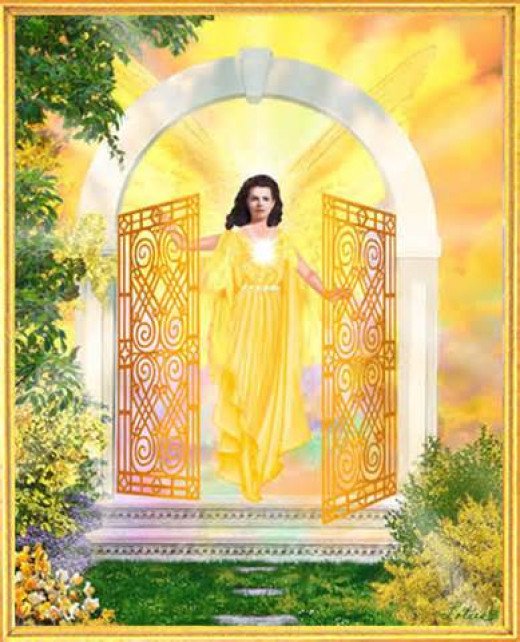 Moving forward and not trying to open a closed door that you don't have the key for, means God has a new door open just for you to walk through.