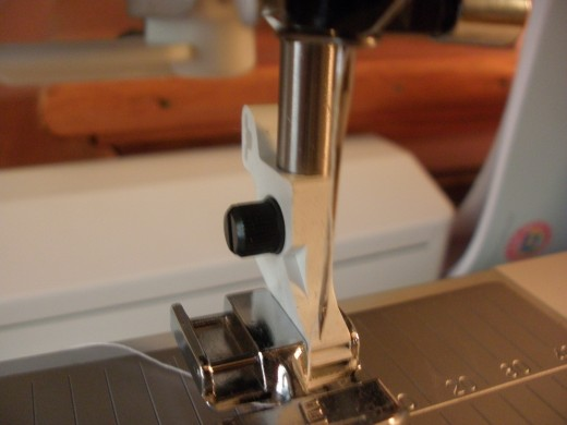 Many quilters, seamstresses, and sewers have gotten jabbed with a sewing machine needle.