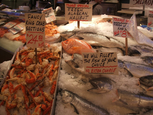 A great selling point is the free filleting.