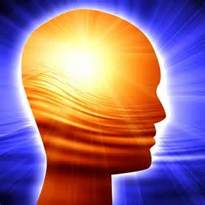 See the light around the mind, that is symbolic of what praying in the Holy Ghost does for our holistic soul.