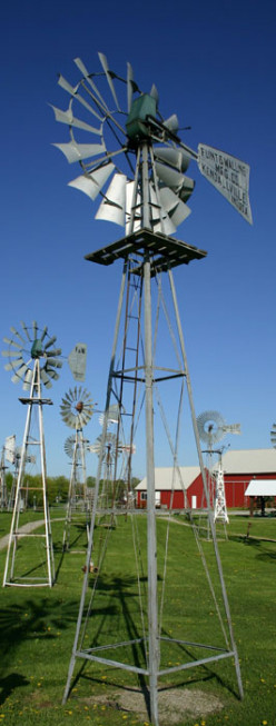 Mid-America Windmill Museum in Kendallville, Indiana