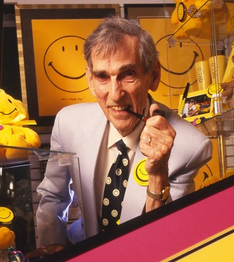 Harvey Ball, happy inventor of the smiley face
