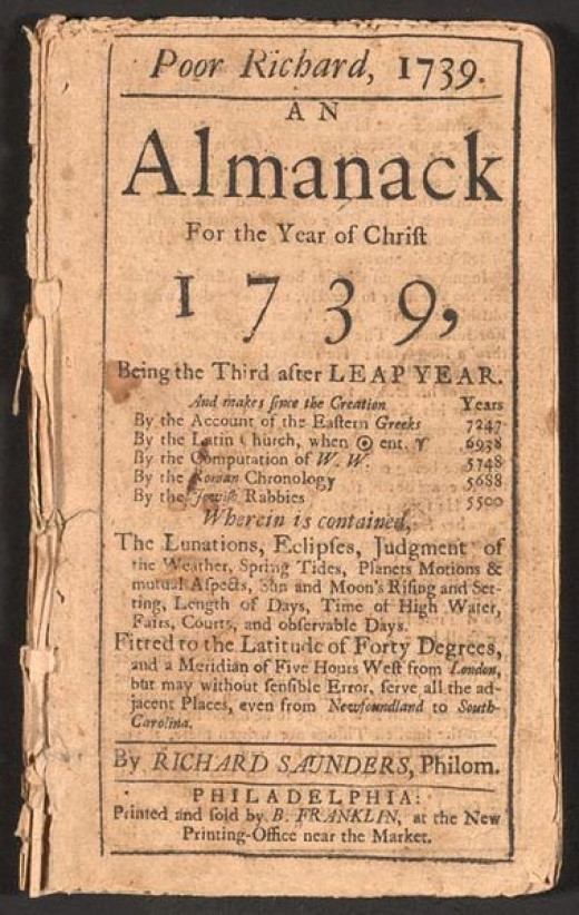 essay on poor richards almanack by benjamin franklin