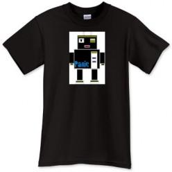 Panic Robot  retro inspired T-shirt