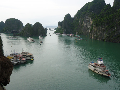 How the Ha Long Bay boats look today