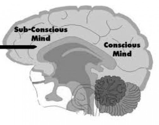 Subconscious and conscious mind