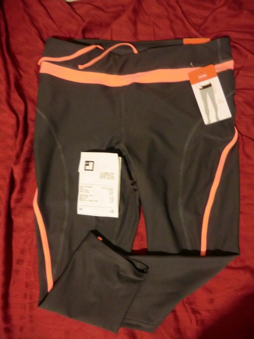 Running tights for $7