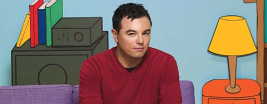 Seth MacFarlane, man behind the animation.
