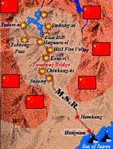 Chosin battle map
