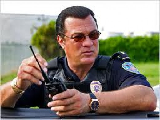 Steven Seagal is a reserve deputy sheriff for the Jefferson Parish Sheriffs department in Louisiana.