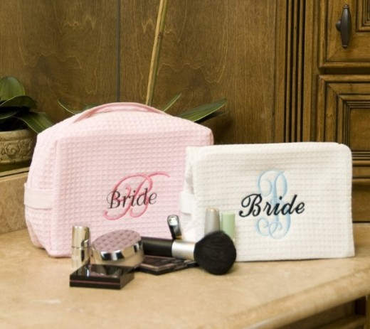 Wedding Day Cosmetic Bag