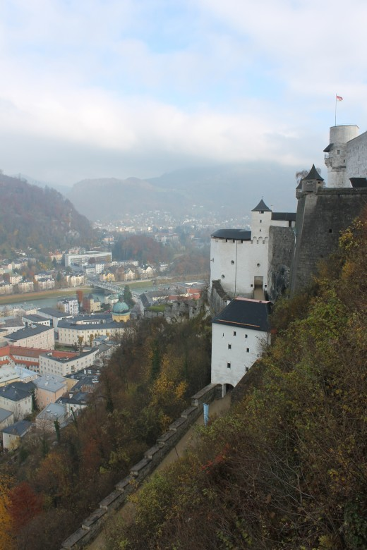 The castle used as a backdrop in The Sound of Music for parts of Do Re Mi.