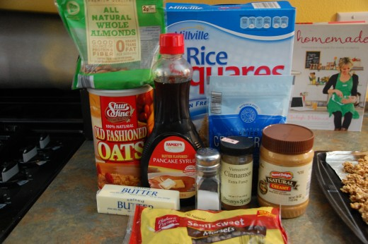 Everything you need to make the granola