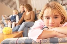 Unfavored siblings are oftentimes ill treated by other siblings in addition to their parents.They feel like strangers in their own families.They feel totally inconsequential, like total personae non gratae.Many of them disconnect from their families.