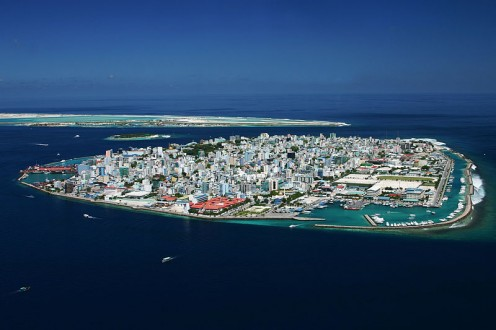 Malé, the capital of the Maldive