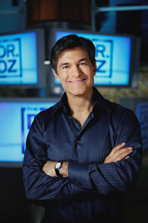 "Dr. Oz on his Challenge Yourself webpage. It says: ""Go Vegan""  ""Take this 28-day challenge to go Vegan."" ""Improve your overall health and well-being by going vegan now!"""