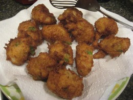 Try this recipe for Crab Fritters!
