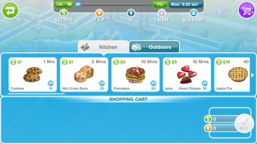 The SIMS FreePlay Supermarket