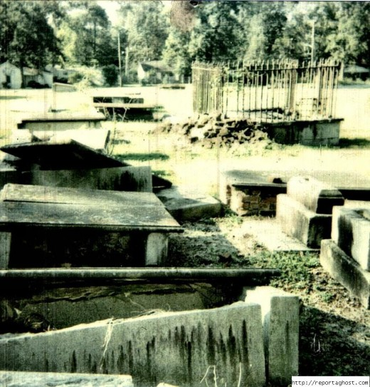 Its hard to imagine a cemetery in this kind of condition