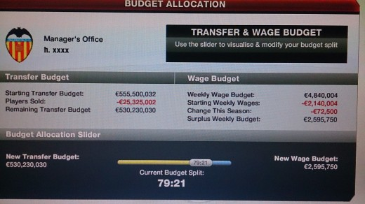 After some years of hard-work and enjoyment of fifa your team will end up having such funds enjoy.