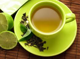 Green Tea helps in reducing dark marks and dark acne spots
