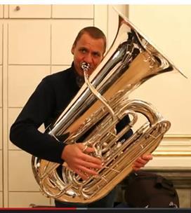 Meet Philharmonic Principal Tuba Alan Baer and His Three Tour Tubas