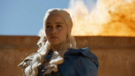 Daenerys Targaryen's storyline continued her evolution as a queen in the making.
