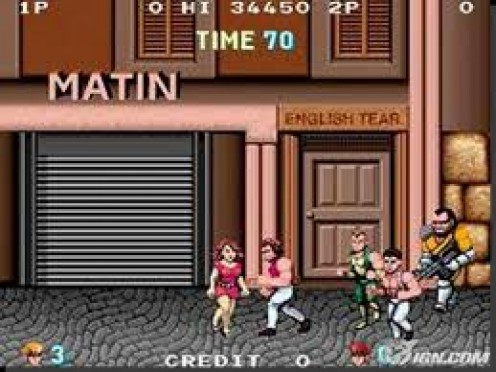 Double Dragon was a great arcade game and it was a top seller when it was ported to the Sega Master system.